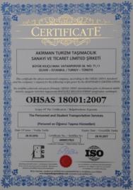 OHSAH 18001:2007